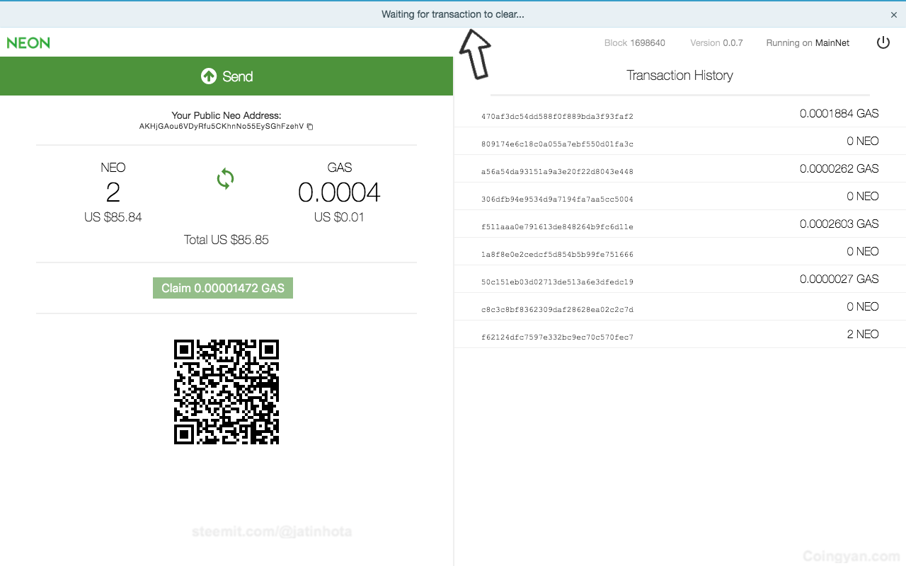 The Complete Guide to Use NEO in Ledger Wallet and Claim Your Free GAS 2