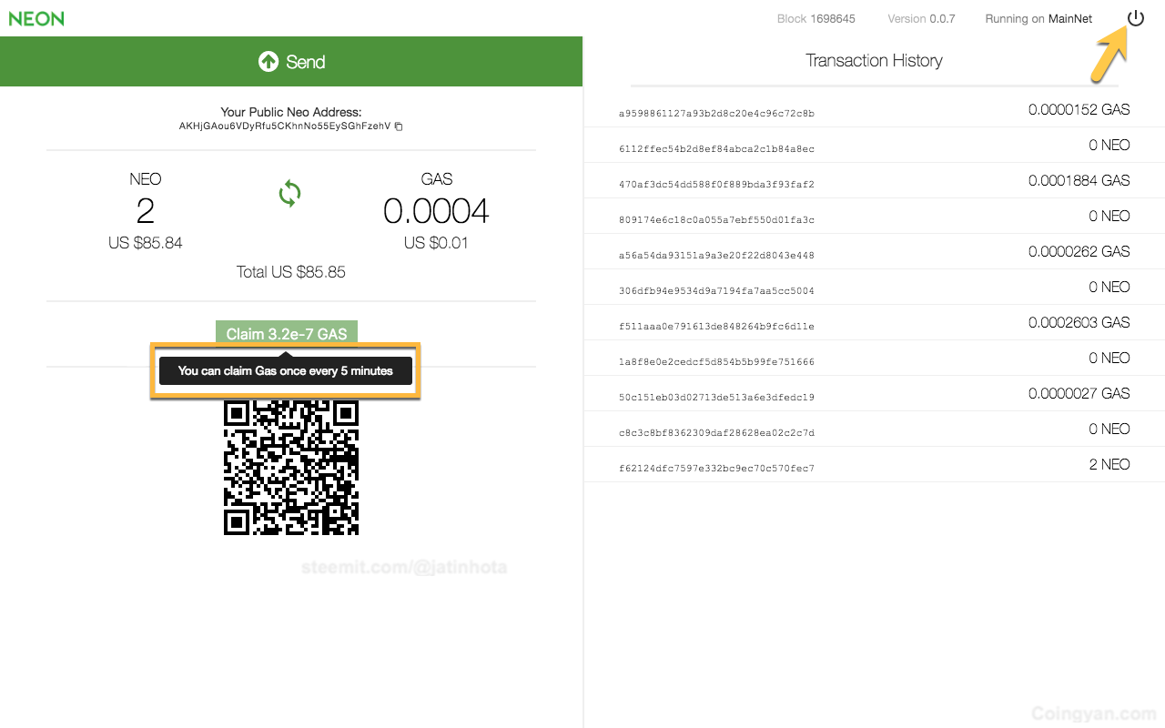 The Complete Guide to Use NEO in Ledger Wallet and Claim Your Free GAS
