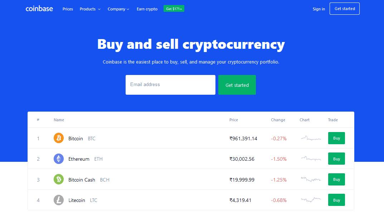 Coinbase- CoinGyan