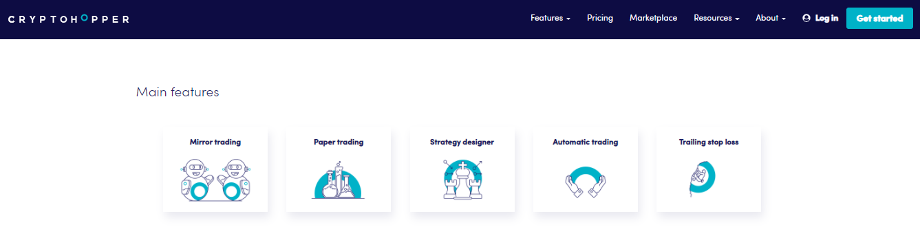 cryptohopper features- CoinGyan