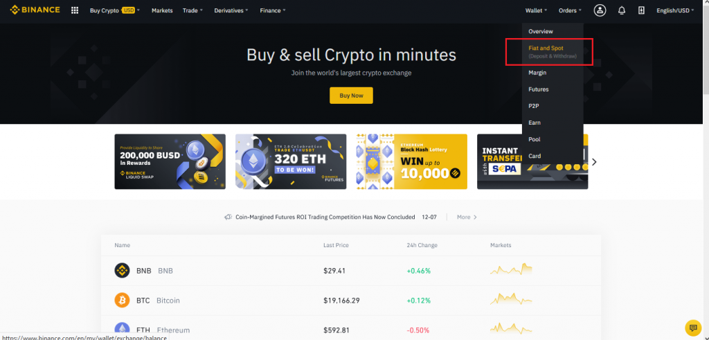 How To Deposit Into Binance Latest- CoinGyan