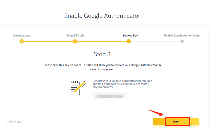 How To Enable 2FA in Binance3- CoinGyan
