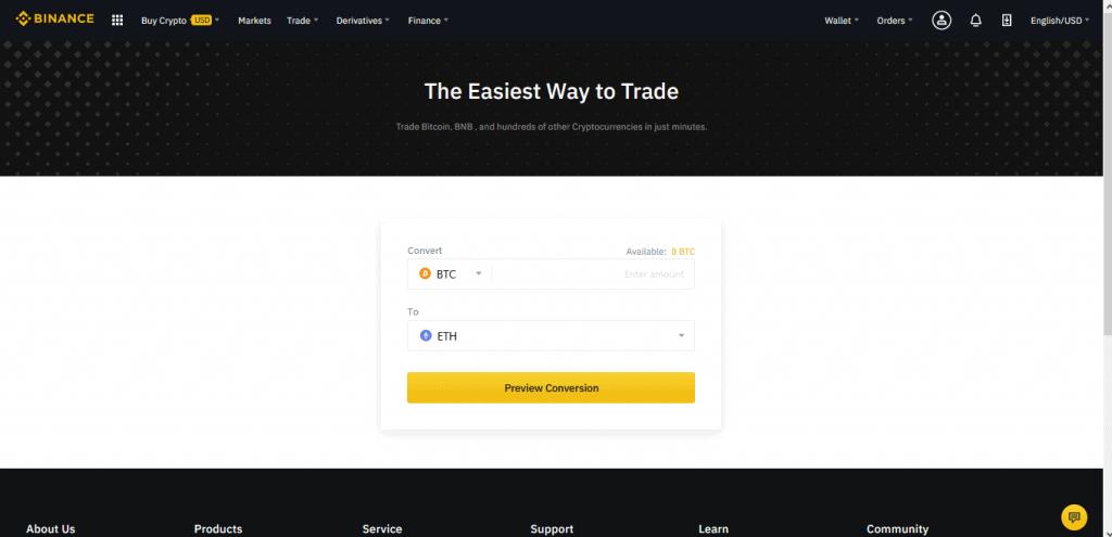 How To Trade on Binance2- CoinGyan
