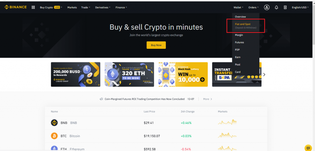How To Withdraw From Binance-1
