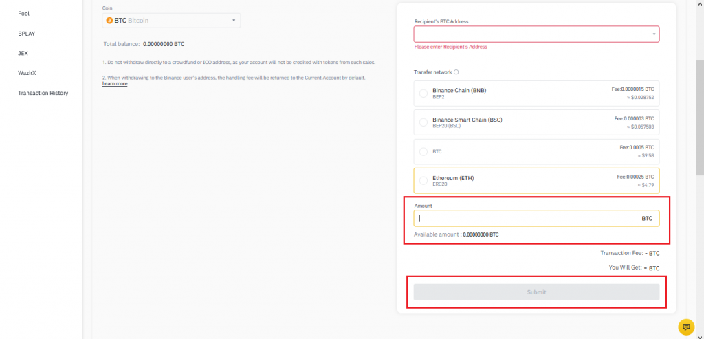 How To Withdraw From Binance-6