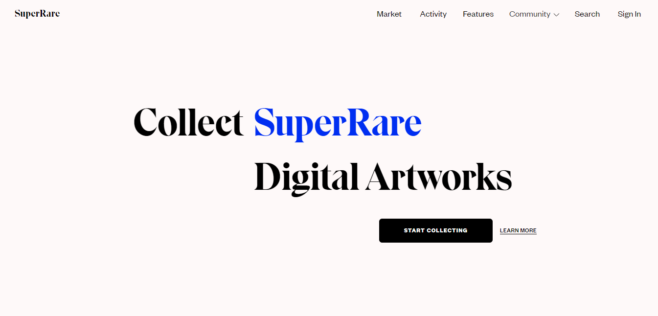 SuperRare NFT Marketplace - CoinGyan