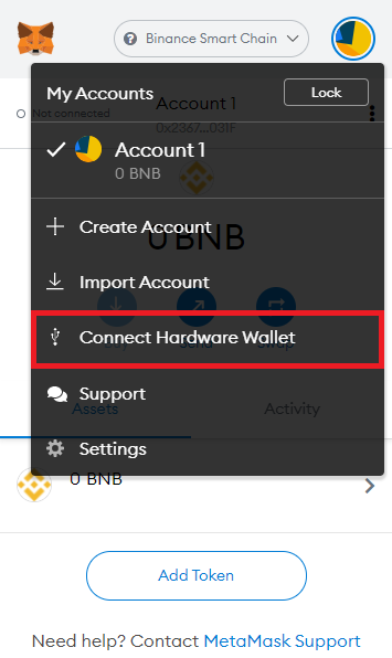 Connect Ledger Nano X to MetaMask - CoinGyan