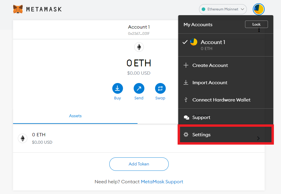 Connect MetaMask to BSC 7 - CoinGyan