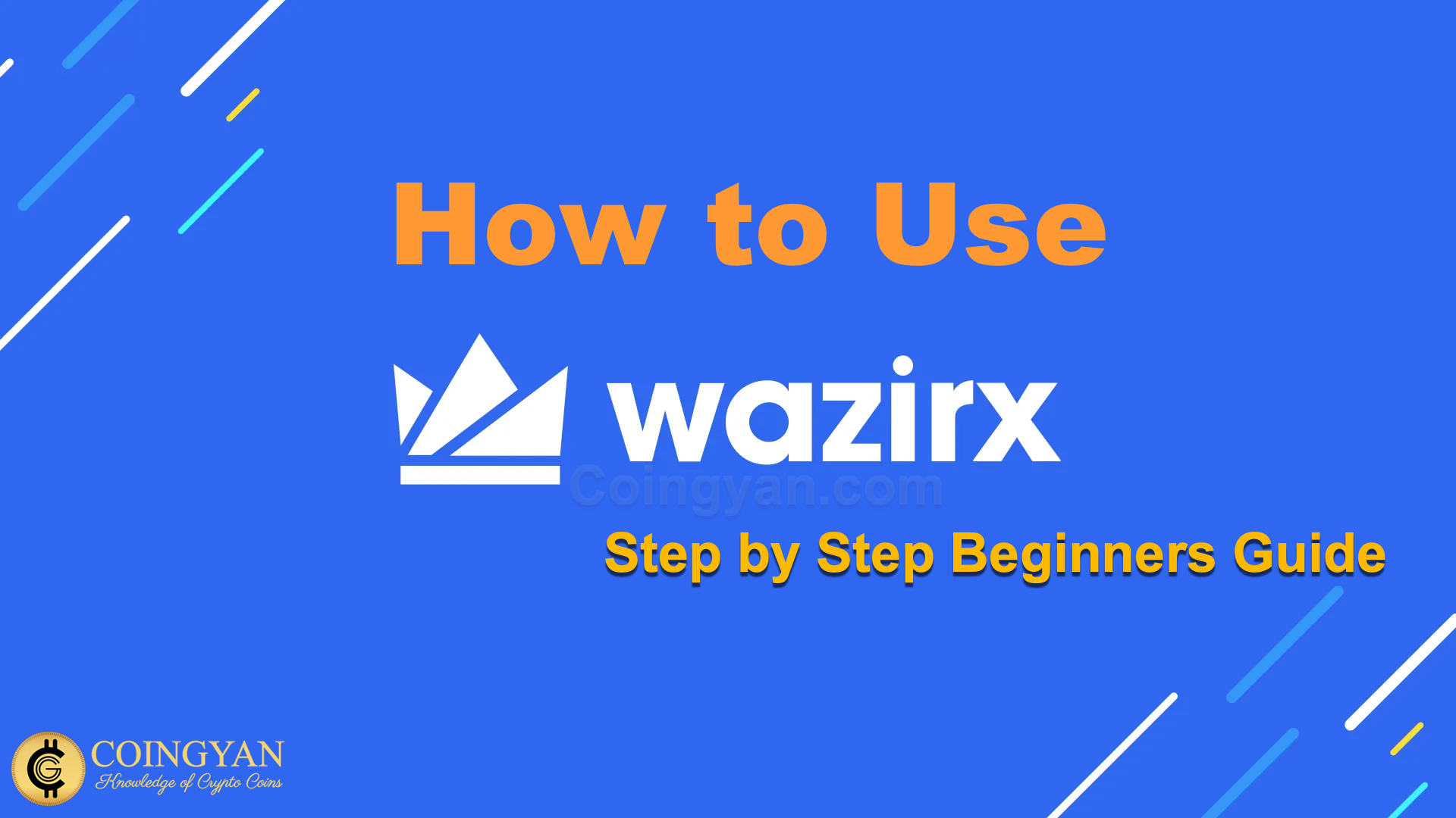 How to Use WazirX: Step by Step Beginners Guide
