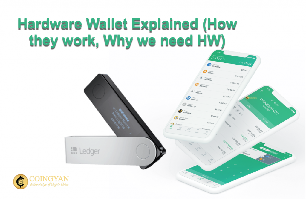 Hardware Wallet Explained (How they work, Why we need HW) - CoinGyan